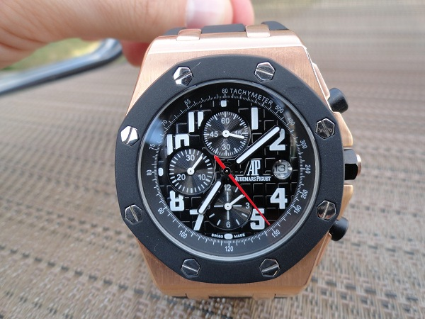 Audemars Piguet Royal Oak Offshore reloj de oro rosa