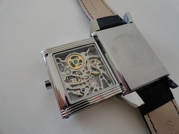 Reloj de la reproducción Esqueleto de la parte trasera