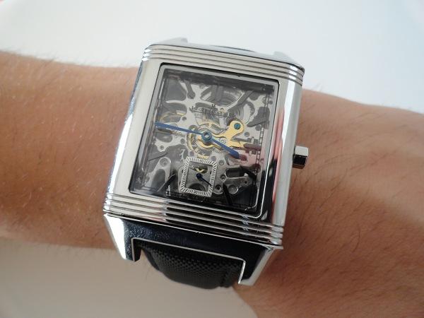 réplica de reloj Jaeger LeCoultre Reverso Esqueleto