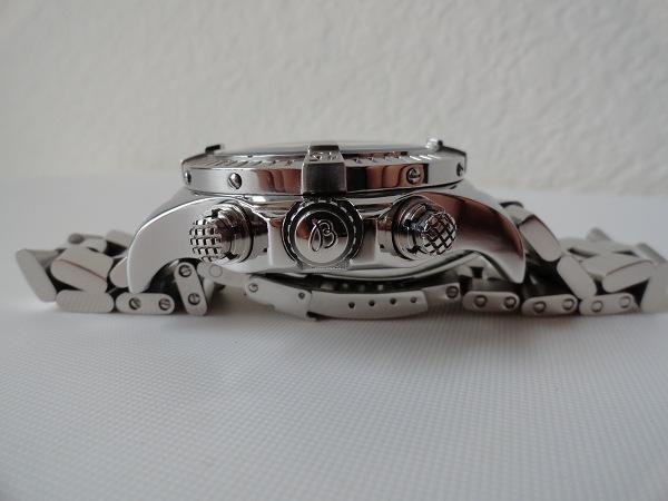 Breitling Skyland réplica de reloj vista lateral