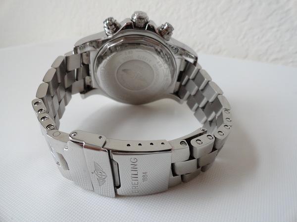 Réplica Breitling Avenger reloj de la parte trasera