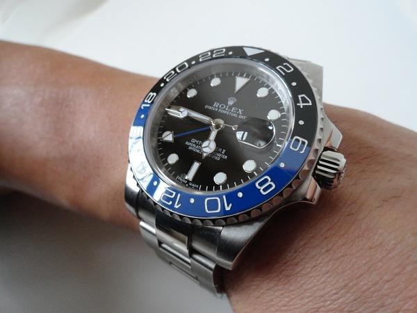 Rolex GMT Master II Azul Bisel Reloj de la reproducción