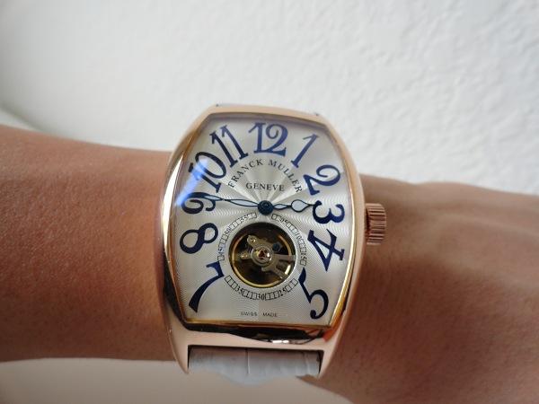 réplica de reloj Franck Muller Tourbillon