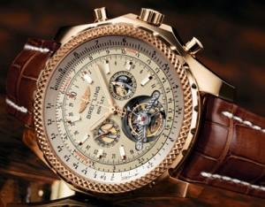Una réplica del oro Breitling, Breitling, Breitling falso, falso reloj, Breitling, réplica de reloj, reloj de oro, Breitling Usher