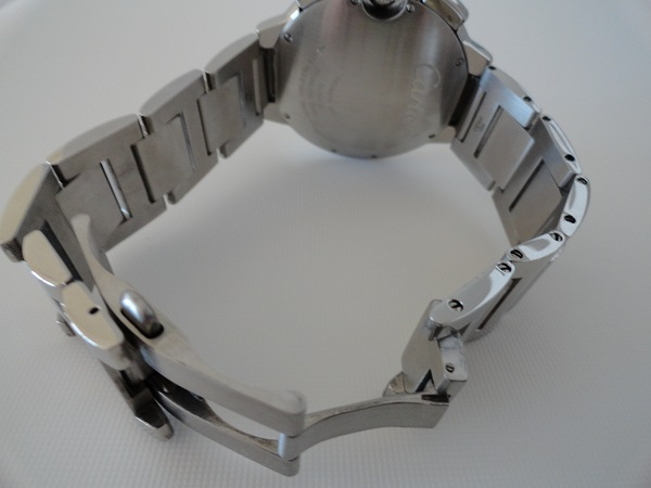 Ballon Bleu de Cartier cronógrafo del reloj de la parte trasera XL