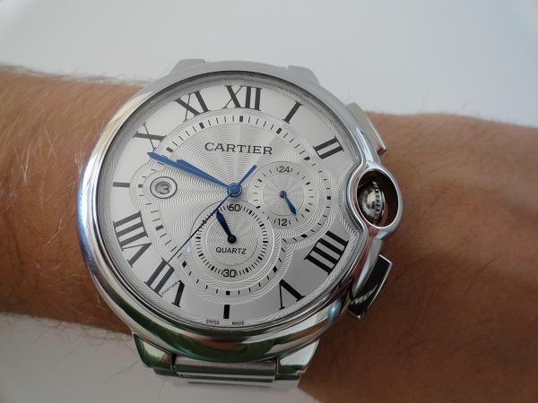 Réplica De Relojes Ballon Bleu de Cartier Chronograph XL