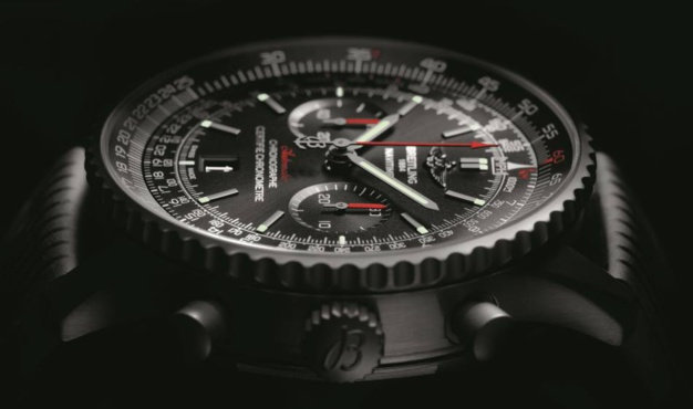3073241be97 Breitling Navitimer 46 Blacksteel Replicas Relojes