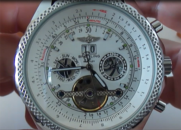 66ec6b78a5da Breitling for Bentley Tourbillon De Réplicas De Relojes
