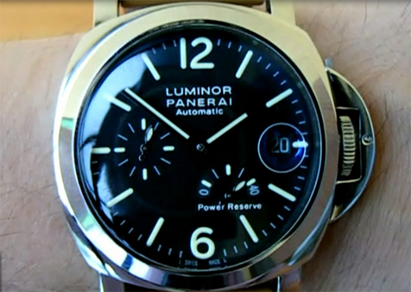 relojes de imitacion panerai luminor power reserve