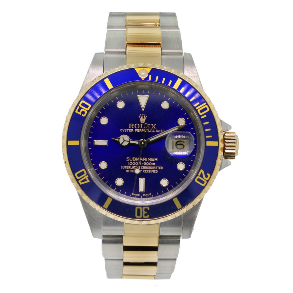 Oro Amarillo Rolex Submariner Replicas Relojes