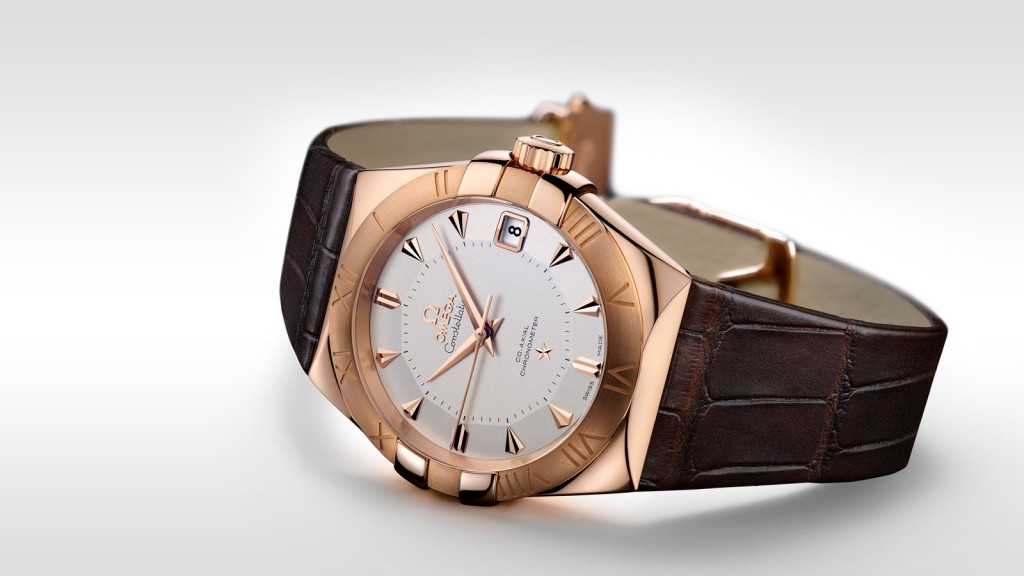 Relojes De Oro Omega Constellation Falsa