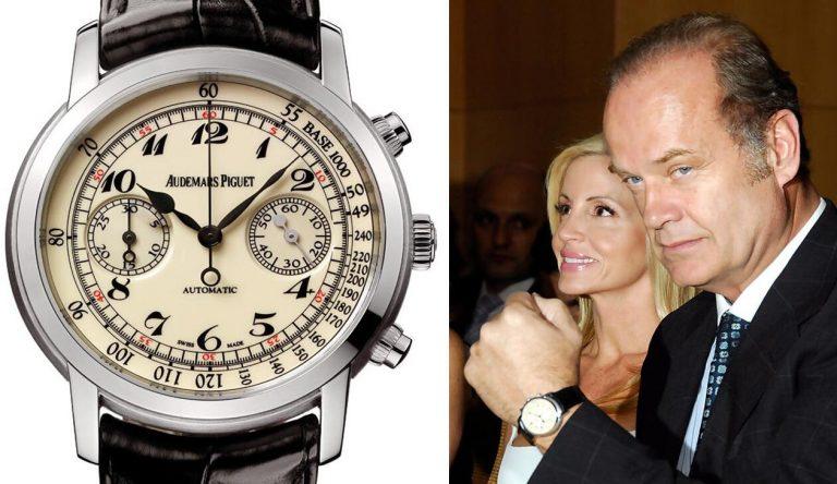 Replicas Clásicas Audemars Piguet Jules Audemars Chronograph Relojes Mejoran La Elegancia De Kelsey Grammer