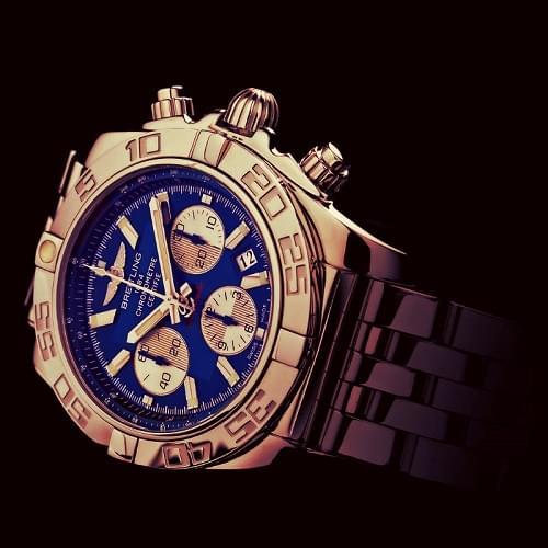 Breitling Relojes Chronomat 44 Esfera Azul