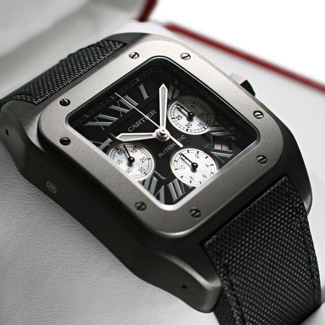 Cartier Replica Santos Chronograph Replicas De Relojes Suizos