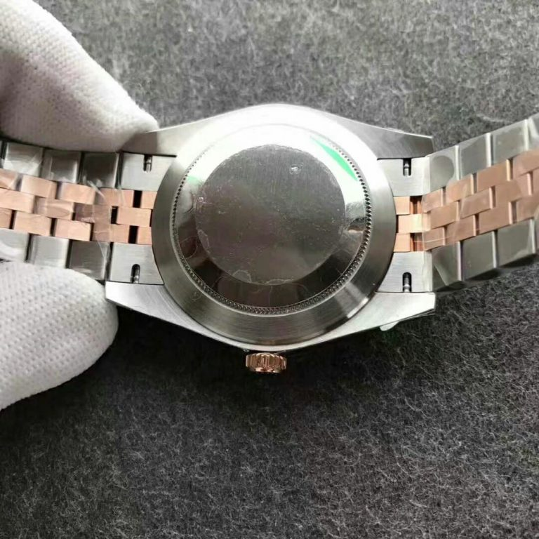 Rolex Datejust Rose Gold Two Tone Carcasa Trasera