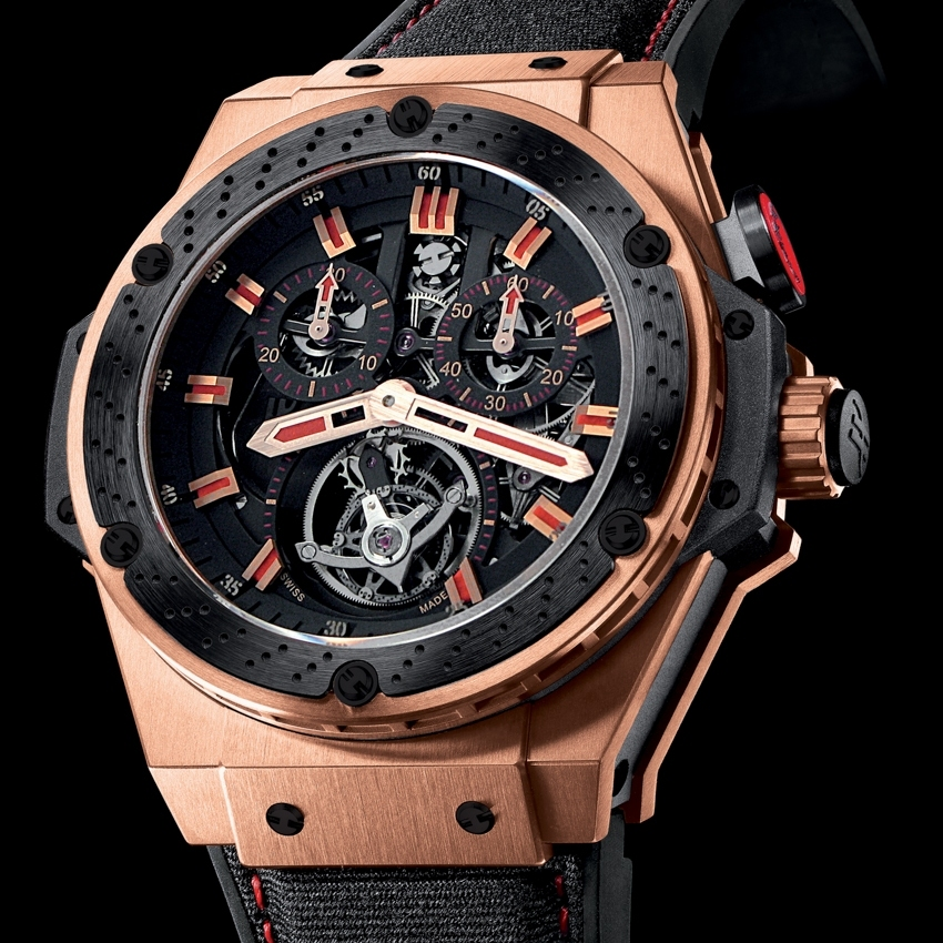 Hublot F1 King Power Tourbillon Replica