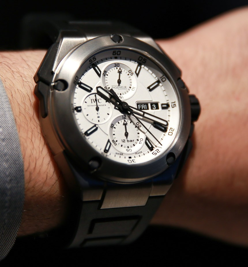 IWC-Ingenieur-Double-Chronograph-Titanium-Replica
