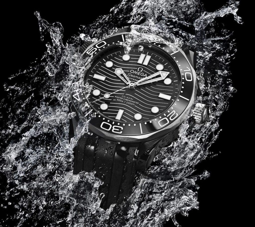 b2794fa24bb Omega Seamaster Diver 300M Replica En Cerámica Negra Y Titanio