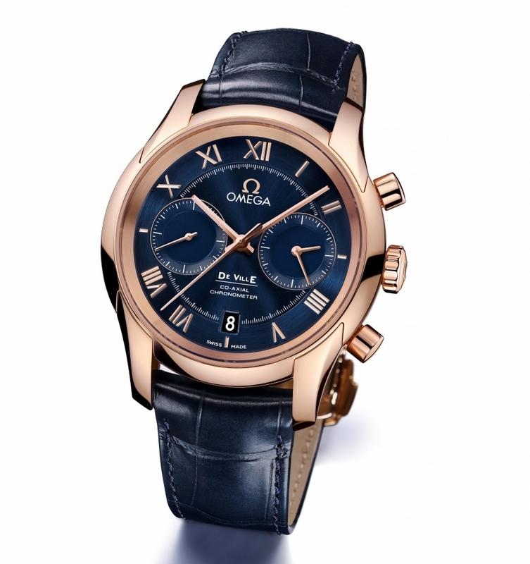 omega de ville chronograph co-axial calibre 9300 9301 relojes de imitacion