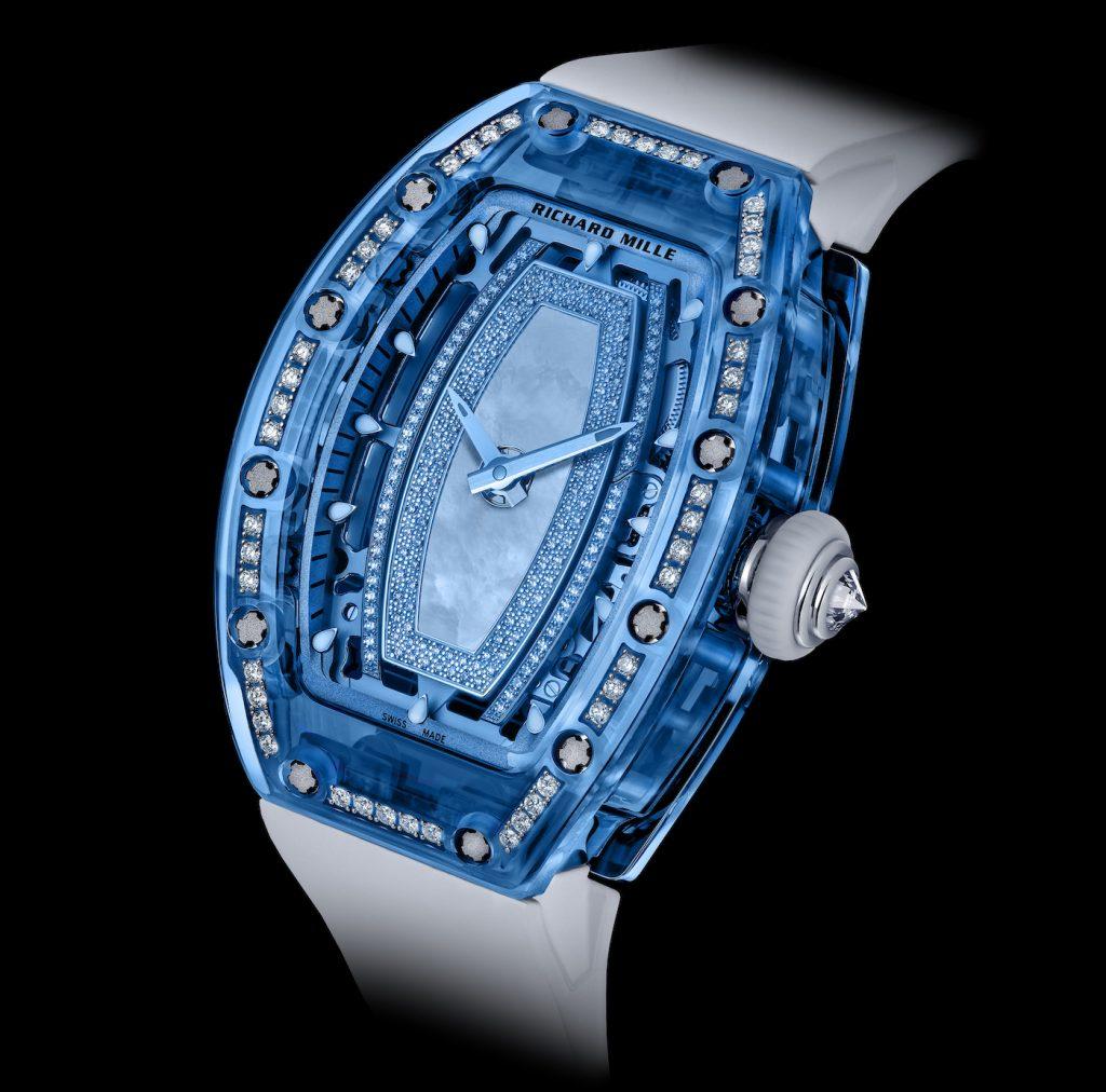 Richard Mille Gemset Sapphire RM 07 02 Replica