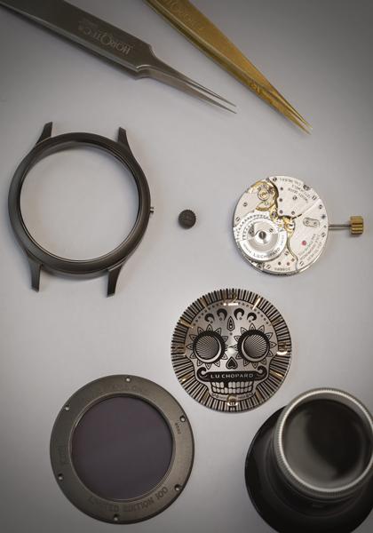 Chopard L.U.C Skull One Replicas Relojes