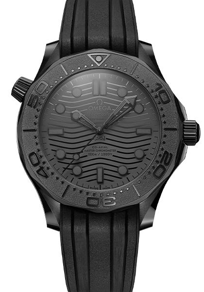 Omega Seamaster 300m Black Replica