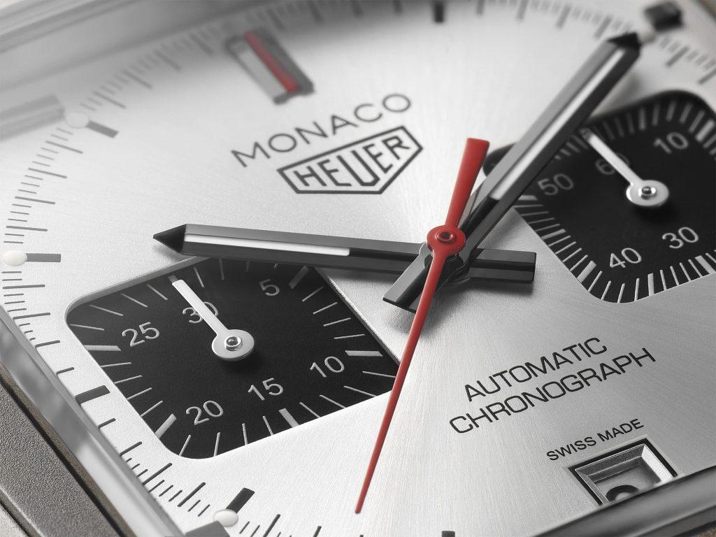 Tag Heuer Monaco Silver Replicas Relojes